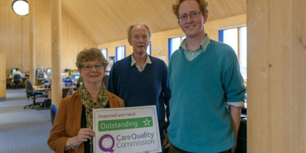 'outstanding' rating
